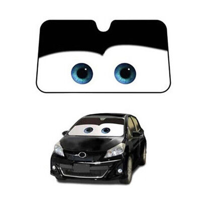 Car Front Window Sunshade Visor Cartoon Folding Windshield Block Cover Protector