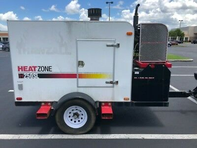 2012 Thawzall  H250SL Ground Heater/Generator on Self Contained Trailer