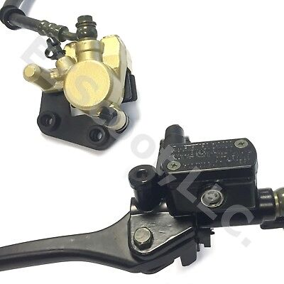 1 Piston Brake Caliper &cylinder Complete Assembly Gy6 Scooter Moped Vip Bms Jcl