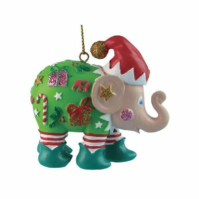 Elefant der ELEPHANT PARADE - THE ELF - 5cm - Christbaumschmuck