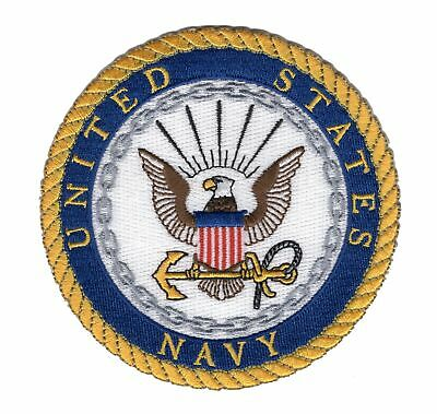 Navy Crest Patch