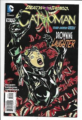 DC Comics, Catwoman, The New 52, Death of the Family, Issue 14, 9.6, Near Mint