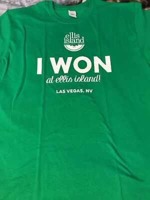 Ellis Island Casino Las Vegas T-Shirt XX-Large Brand New