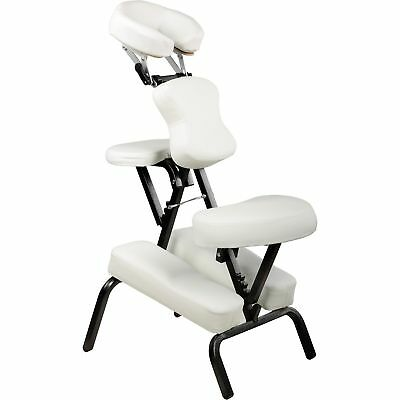 CHAISE DE MASSAGE G7W Blanc Amma Assis Shiatsu Pliable Portable