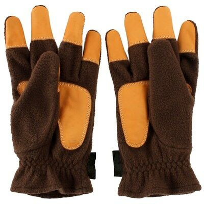 Bearpaw Winter Archery Gloves Fleece Schießhandschuh 1 Paar XXS-XXL Tips Leder