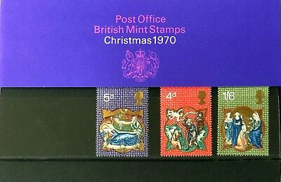 British Post Office Mint Stamps 1970 XMAS please view