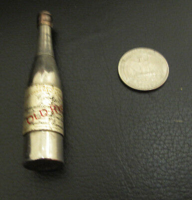 Vintage Figural Whisky Bottle Mechanical Pencil Corly's  Canada Rye Utica Co.