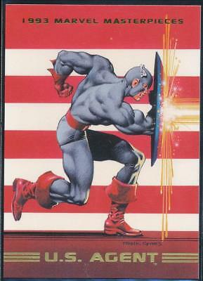 1993 Marvel Masterpieces Trading Card #32 U.S.Agent
