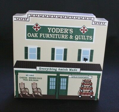 Cat's Meow: A Day in Amish Country - Yoder's Oak Furniture - 2001