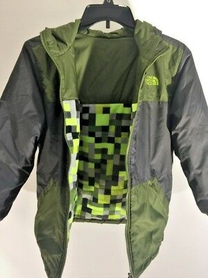 54d26e265 THE NORTH FACE Boy's Brayden Insulated Snow Ski Winter Jacket Size M ...