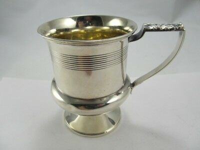 Re & Eb London Georgian Sterling Handled Mug Good Cond Fine Mono