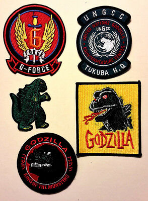 Godzilla King of Monsters Movie Patch Collection- Your Choice & sets