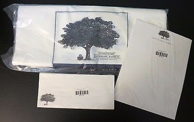 Longaberger Love It, Live It, Share It Letterhead, Envelopes, and Delivery Bags