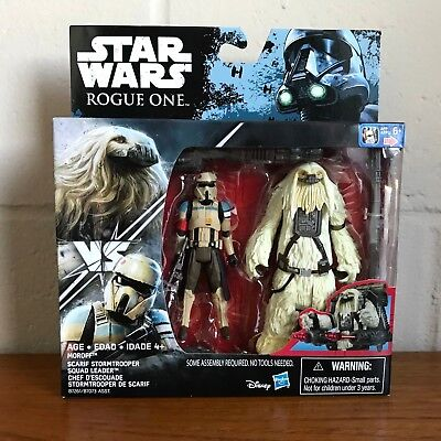 Star Wars Rogue One Moroff Scarif Stormtrooper Squad Leader 2 Action Figures