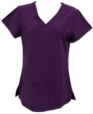 Four way Stretch Scrub Top