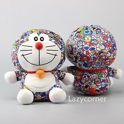 2018 UNIQLO DORAEMON X Takashi Murakami Plush Toy Stuffed Doll 10'' Cute Limited