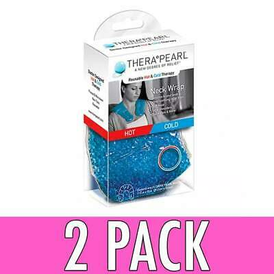 TheraPearl Reusable Hot & Cold Neck Wrap, 1 ea, 2 Pack