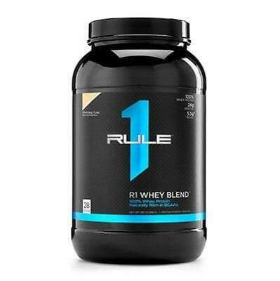 Rule 1 Whey Blend Protein Powder Great Taste All Sizes All Flavours