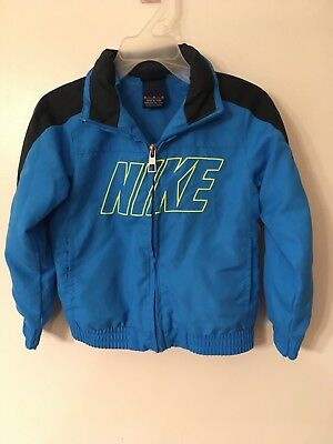 Toddler Boy size 3T lightweight blue Nike jacket NEW