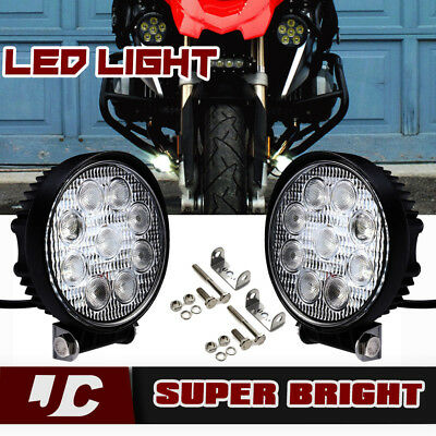 "3"" 4"" LED Fog Darla Krista Lights For BMW R1200GS G310R Kawasaki Sport Touring"