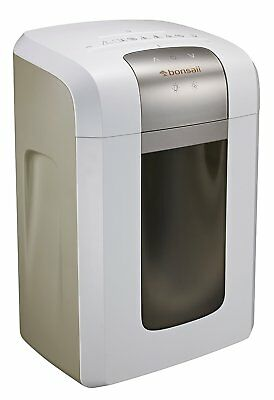Bonsaii 4S23 8-Sheet Micro-Cut Shredder with 4 Casters Thermal Protection 6 Gal.
