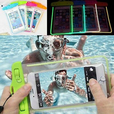 Waterproof Phone Pouch Case Anti-Water Pouch Bag Cover for iPhone Samsung HTC LG