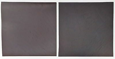 Horween Chromexcel Leather 2.0-2.2 Mm Thick 2 @ 15Cm X 15Cm Brown Notebook