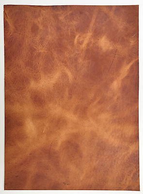 Horween Veg Tan Leather 2.0-2.2 Mm Thick 1 @ 260Mm X 220Mm English Tan Derby