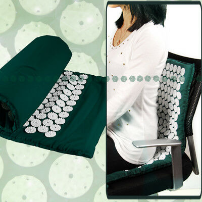 Green Acupressure  Yoga Massage Mat Kung Fu Relieve Pain Sore Tension AU