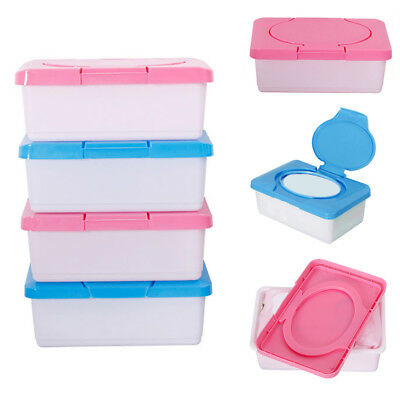 Tissue Case Baby Wipes Box Plastic Wet Tissue Automatic Case Care Accessory S8K6