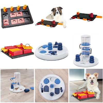 Trixie Dog Activity Flip Board Poker Box Interactive Brain Games Training Toy