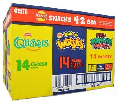 Walkers Snacks 42er Variety Box