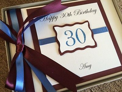 Personalised Birthday 18Th 21St 30Th 40Th 50Th 60Th Guest Book Memory Book Album