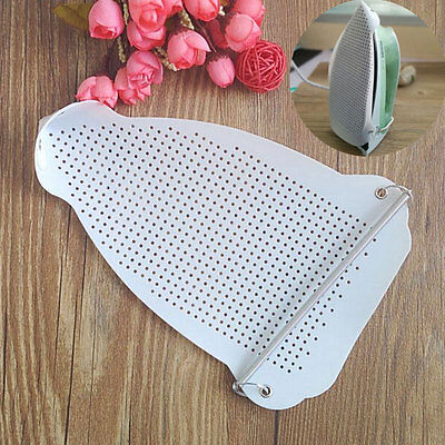 1x White Iron Cover Shoe Cloth Ironing Board Aid Protect Fabrics Heat Protector