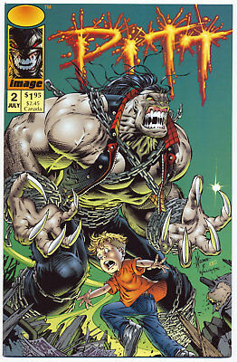 Pitt (1993 Series) # 2 - Image Comics Jul 1993 | 9.2 NM-