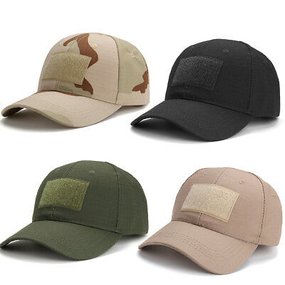 Army Military Operators Tactical Baseball Field Cap Adjustable Hat Camouflage Uk