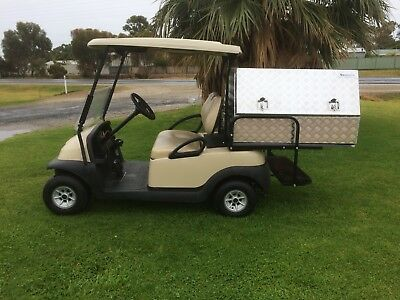 Club Car Golf Cart House Keeping Vehicle