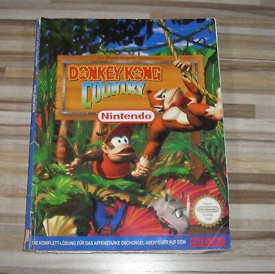 SNES Donkey Kong Country Lösungsbuch Guide Spieleberater Super Nintendo