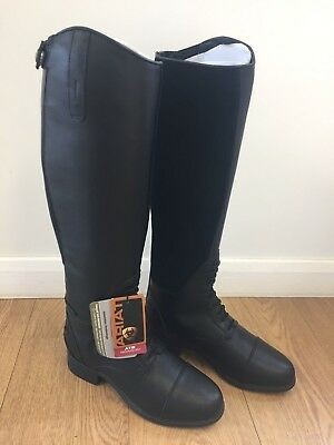 Ariat Womens Bromont Tall H20 Boot (Non-Insulated) Black. Uk Size 7.5