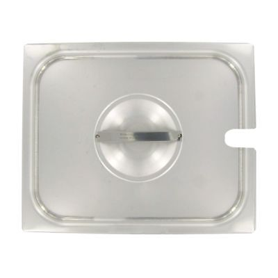 Vollrath 75229 Slotted Stainless Steel Half Size Pan Lid