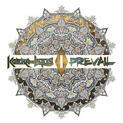 2017 JAPAN CD KOBRA AND THE LOTUS Prevail I with Bonus Track (Total 11tracks)