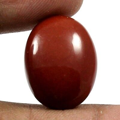 17.90 cts 100% Natural Untreated Red Jasper Gemstone Oval Shape Loose Cabochon