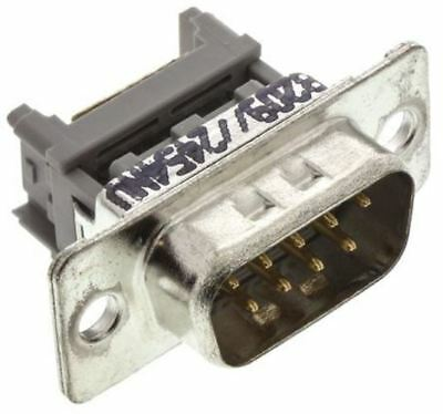 3M 8200 Series 1.27mm Pitch 9 Way IDC D-sub Connector, Plug, Steel Shell