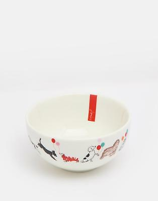 Joules Single Bowl in Fete Print in One Size