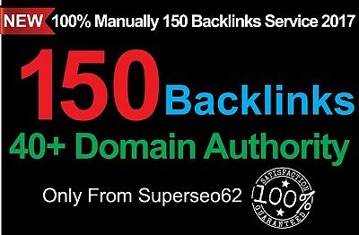 Skyrocket your Google RANKINGS 150 Backlinks from High DA 40+ Domains LIMITED TI