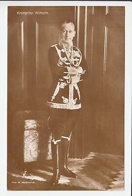 Late German Crown Prince Wilhelm in uniform of his 1st LIFE HUSSAR REGIMENT RARE