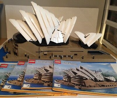 Lego Sydney Opera House Architecture Set 21012 Complete With Box