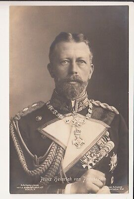 Admiral Prince Heinrich of Prussia in uniform of the Imperial German Navy RARE