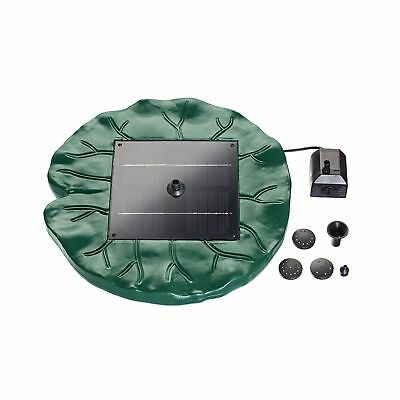 pond boss DLILYSOL40 Solar Floating Lily Pad fountain Green