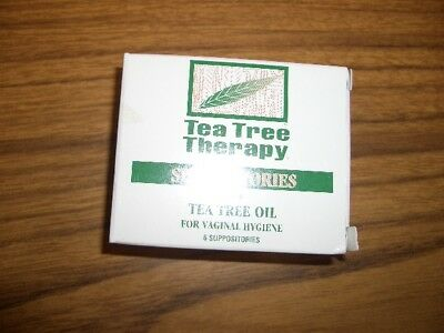 Tea Tree Therapy Vaginal Hygiene Suppositories with Tea Tree Oil 6 Count 6/2020